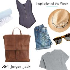 Munich, Get The Look, Leather Backpack, Summer Outfits, Ootd, Backpacks, Inspiration, Image, Fashion