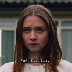Mood 💬 – The End of the F***ing World _________________________________ Divas, Gemini Rising, Movie Lines, My Vibe, Film Quotes, Some Quotes, Reaction Pictures, It Hurts, At Least