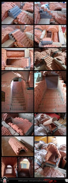 Domus project 030-037: Brick staircase (part II) by Wernerio.deviantart.com on…