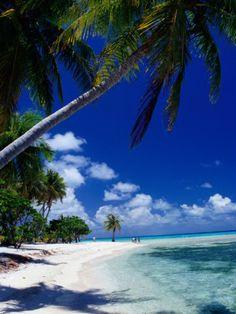 French Polynesia beach