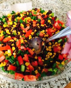Spanish Salad Recipe- Grabbinglapels.com