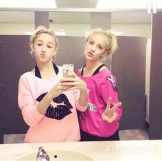 Dance Moms Chloe and Paige