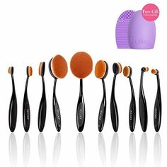 Docolor Oval Makeup Brushes Set with Cleaner Tools (Black,10Pcs)  BUY NOW     $16.45     WHY YOU CHOOSE US ?   1.Makeup Tools OEM Factory for Top Brands!Affordable High Quality for Everyone!  2.DOCOLOR are strict i ..  http://www.beautyandluxuryforu.top/2017/03/13/docolor-oval-makeup-brushes-set-with-cleaner-tools-black10pcs/