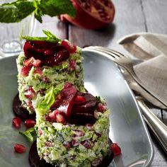 Brokkoli-Tatar mit Granatapfel Rezept | LECKER