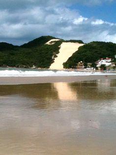 Playa Ponta Negra, Natal-Brasil. Simplemente espectacular.