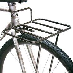 Silver Metro Porteur Steel Front Rack