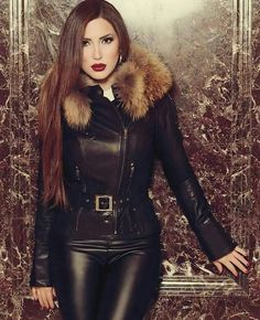 : Top 10 Most Beautiful Muslim Women Sexy Outfits, Fashion Outfits, Leather Dresses, Leather Pants, Black Leather, Leather Fashion, Boho Fashion, Winter Fashion, Latex
