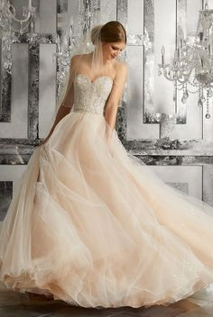 Featured Dress: Morilee By Madeline Gardner; Wedding dress idea.