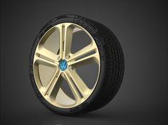 Vw wheel concept