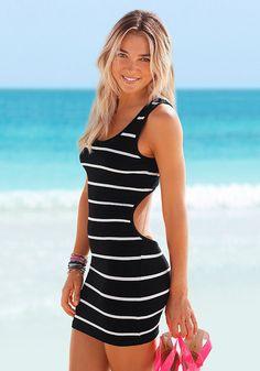 Venice Beach Strandkleid mit Rückenausschnitt