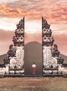 Pura Lempuyang in the North East of Bali.  Wanderlust Instagram: small.lena