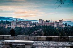 "Alhambra - Sunrise - Alhambra The Alhambra (/ælˈhæmbrə/; Spanish: [aˈlambɾa]; Arabic: الْحَمْرَاء [ʔælħæmˈɾˠɑːʔ], Al-Ḥamrā, lit. ""The Red One"")"