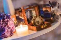nautical wedding favors http://weddingwonderland.it/2015/04/matrimonio-nautico-taormina.html