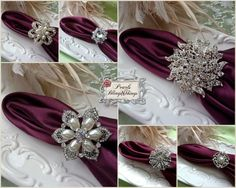 elegant silver crystal centerpieces | pc Assorted Elegant Silver Pewter Crystal Rhinestone and Pearl ...