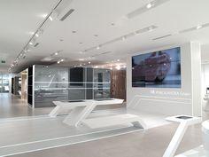 La tecnología protagoniza el diseño de #baños. #Noken Baños Porcelanosa