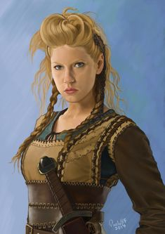 lagertha - Google Search Lagertha, Steampunk Hairstyles, Vikings, Tv, Game Of Thrones Characters, Princess Zelda, Fictional Characters, Google Search, Digital Illustration