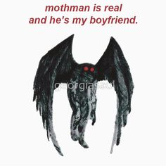 Mothman: T-Shirts | Redbubble