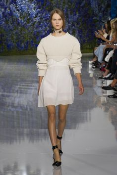 Raf Simons final show for Dior @ Paris Fashion Week SS16 #rafsimons #dior #PFW #ss16