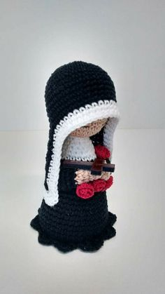 Photo-Tutorial: Eyes for Crochet Dolls Crochet Deer, Crochet Santa, Crochet Angels, Crochet Dolls, Crochet Baby, Knit Crochet, Amigurumi Doll, Amigurumi Patterns, Crochet Patterns