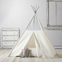Teepee to Call Your Own (Silver Metallic)