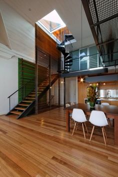 """I'd want two staircases: a normal, wide one that's easy for movers and a spiral one that's aesthetic. I see this and think,""""it had to be a bitch to get stuff up to the third floor"""""""