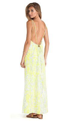 Lovers + Friends Golden Light Maxi Dress