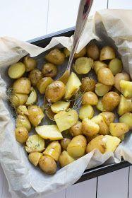 Tengo un horno y sé cómo usarlo | Recetas & fotos | Cocina paso a paso| Food | Spanish | Recipes: Patatas nuevas al horno