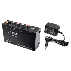 Pyle - PylePro Ultra Compact Phono Turntable Pre-Amplifier