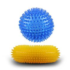 Woopet Squeaky Dog Toy Soft Rubber Chew Toy Tooth Cleaning Squeaky Dog Chew Ball Toys 2Pack >>> You can get additional details at the image link. (Note:Amazon affiliate link)