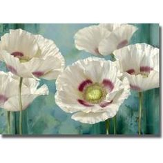 @Overstock - Brighten your space with this clever floral. With brilliant lighting effects, the colors vividly portray the flowers with classic artistic realism.http://www.overstock.com/Home-Garden/Igor-Levashov-Tasmanian-Poppies-I-Canvas-Art/6595981/product.html?CID=214117 $154.99