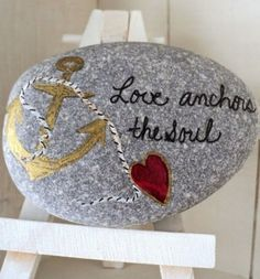 99 DIY Ideas Of Painted Rocks With Inspirational Picture And Words (138)