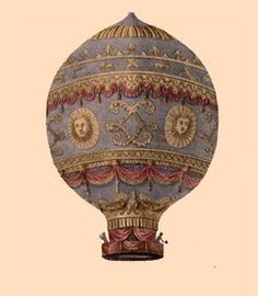 The first successful hot airballoon