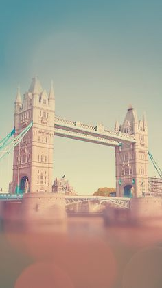 England Tower Bridge Bokeh #iPhone #6 #plus #wallpaper