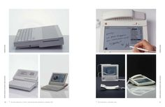 "Early prototypes of Apple devices from the new book ""Design Forward"" - http://www.accdistribution.com/us/store/pv/9783897903814/design-forward/edited-hartmut-esslinger"