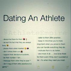Athlete online dating
