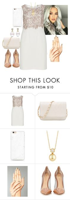 """""""Untitled #264"""" by fatyhnrqz94 ❤ liked on Polyvore featuring Gina Bacconi, Belpearl and Gianvito Rossi"""
