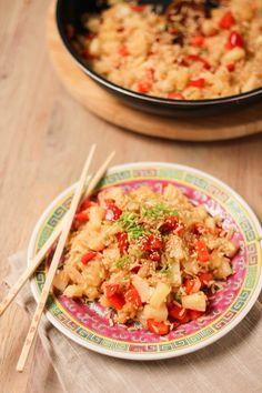 riz sauté à l'ananas - pineapple fried rice (1 of 1)