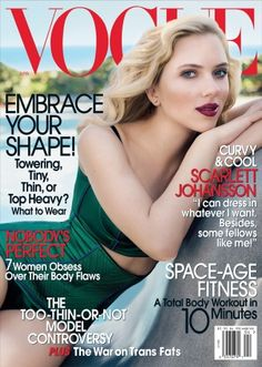 "US Vogue April 2007 ""Scarlet Letters"" Model/star: Scarlett Johansson Photographer: Craig McDean Stylist: Tonne Goodman Hair: Garren Makeup: Lucia Pieroni"