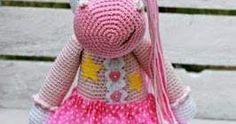 Amigurumi Unicorn Türkçe tarif - Design By Diana Patskun - Puffy Angel Amigurumi Toys, Crochet Toys