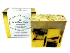 SOAP Ginger Lemongrass Soap Handmade Soap. Vegan Soap Soap