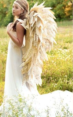 Sheet music wings