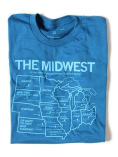 The Midwest, as viewed by people not from the midwest. So true!
