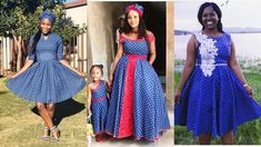 Trendiest Shweshwe Dresses 2019 for Ladies African Traditional Wear, Traditional Outfits, Seshweshwe Dresses, Xhosa Attire, African Fashion Ankara, Gorgeous Women, Hair Style, Wedding Ideas, Fashion Outfits