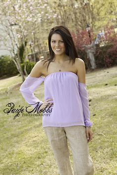 Cold Shoulder Top in Lavender!  http://biminibutterfly.com/collections/tops/products/cold-shoulder-top.