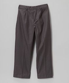 Look at this #zulilyfind! Charcoal Pants - Toddler & Boys by LA Sandra #zulilyfinds