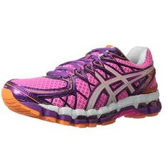 new product a90d1 010e4 ASICS Women s Gel Kayano 20 Running Shoe,This running shoe from ASICS  offers a blend of stable support and stretchy comfort, ideal for a neutral  to ...