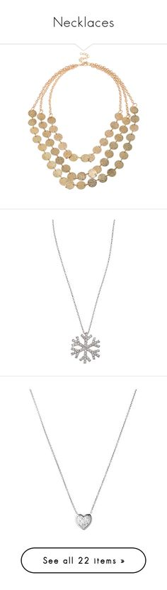 """""""Necklaces"""" by whims-and-craze ❤ liked on Polyvore featuring jewelry, necklaces, gold, gold layered necklace, gold jewellery, yellow gold necklace, layered jewelry, gold statement necklace, accessories and collane"""