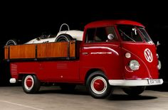 1964/5 Volkswagen Pick-up w/ a Porsche Formula V