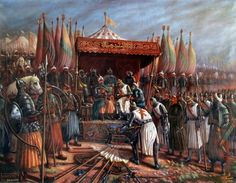 The Battle of Hattin took place on July between the Crusader Kingdom of Jerusalem and the forces of the Ayyubid sultan Salah ad-Din, known in the West as Saladin. History Of Islam, World History, Ancient History, Battle Of Hattin, Kingdom Of Jerusalem, Friedrich Ii, Medieval, Italy History, High Middle Ages
