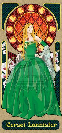 cersei lannister by ~tfilipova on deviantART